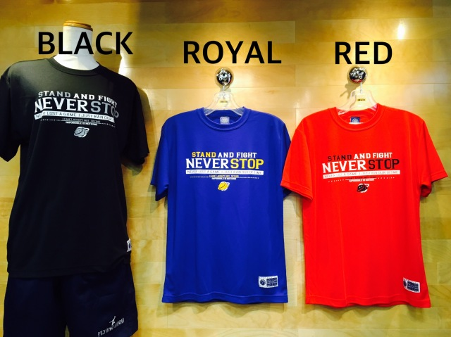 (NST602)NEVER STOP  STEP BY STEP オリジナルTシャツ