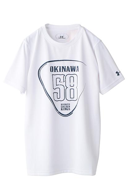 公式グッズ 琉球ゴールデンキングス UAキングスユーステックSS(OKINAWA 58) [YLK0270]
