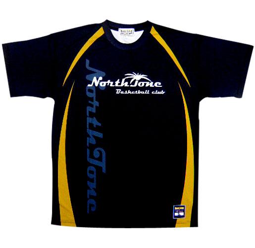【デザインサンプル】 NORTH TONE チームTシャツ (BALL LINE)