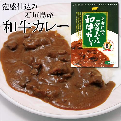 【沖縄土産】泡盛仕込み石垣島産和牛カレー180g