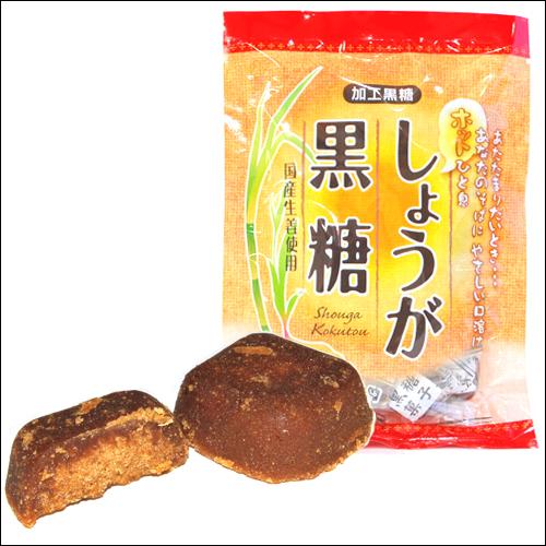 沖縄宝島 しょうが 黒糖 120g