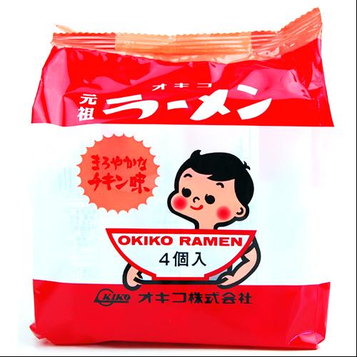 元祖 オキコ ラーメン 30g x 4袋入り 4962516099953