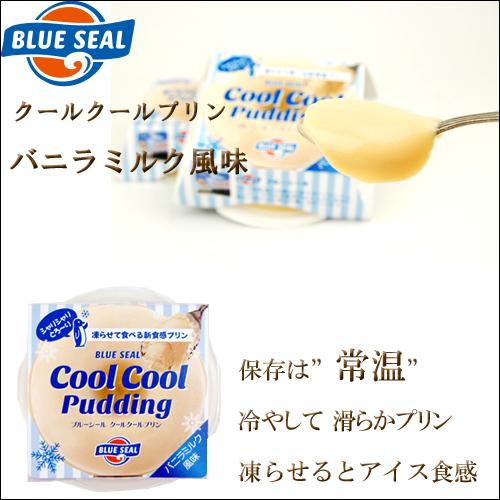 沖縄宝島 ブルーシール クールクールプリン バニラミルク 風味