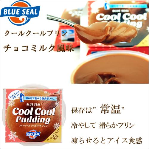 沖縄宝島 ブルーシール クールクールプリン チョコミルク 風味