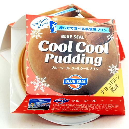 沖縄宝島 ブルーシール クールクールプリン チョコミルク 風味 4582112265523