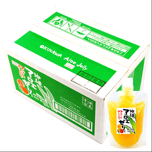マンゴー&オレンジ味のマンゴーゼリー×10個セット 4582112265417