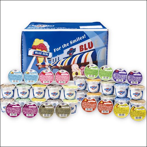 ブルーシールアイスクリーム ギフトセット36
