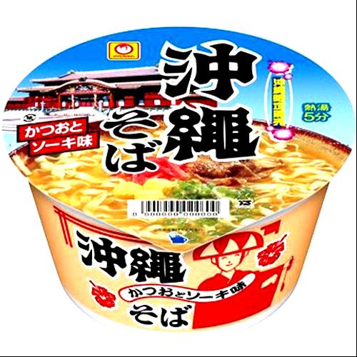マルちゃん 沖縄そば カップ麺 4901990523141