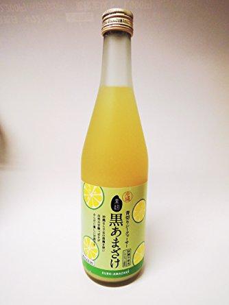 忠孝/青切りシークワーサー黒あまざけ500ml