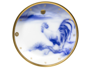 平成29年「酉」(とり) 16.5cm干支飾り皿