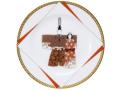 雛祭 20cm飾り皿