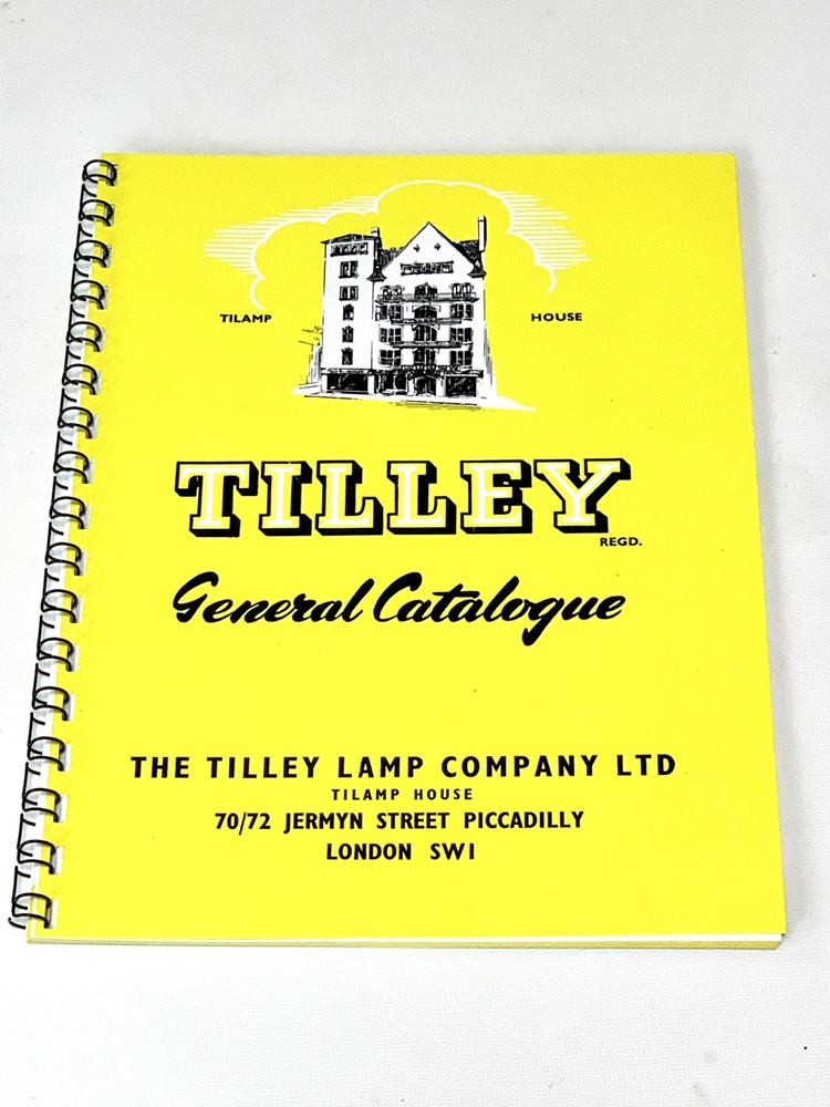TILLEY General Catalogue / TILAMP HOUSE パーツカタログ