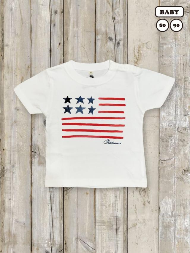 ベビー・キッズTシャツ(STARS & STRIPES)