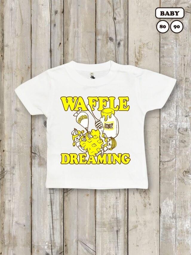 ベビー・キッズTシャツ(WAFFLE DREAMING)
