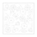 花ふきんH-1028 フラワー