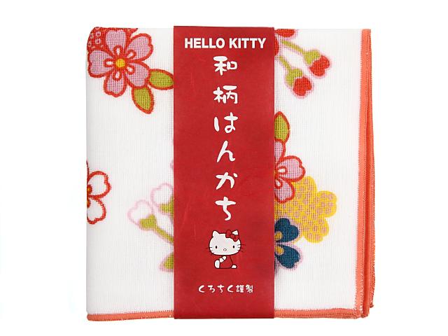 キティちゃんハンカチ桜