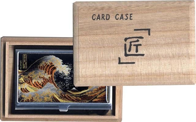 蒔絵カードケース桐箱入り
