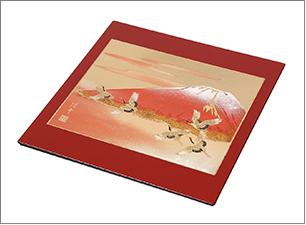 蒔絵マウスパッド サイズ:175x175x4mm