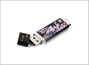蒔絵 富士山と桜 ステーショナリーBセット(USBメモリー)