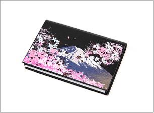 蒔絵 富士山と桜 ステーショナリーBセット(カードケース)
