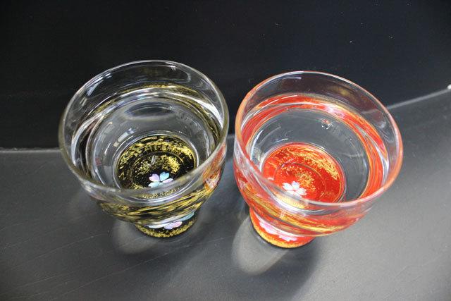 螺鈿(らでん)杯金杯