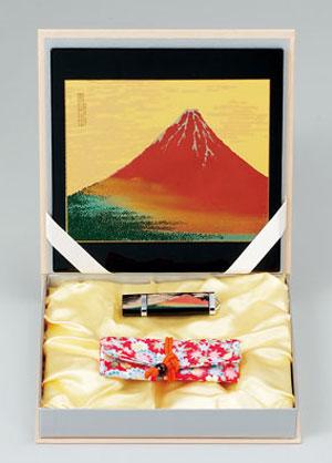 蒔絵ステーショナリーセットA赤富士