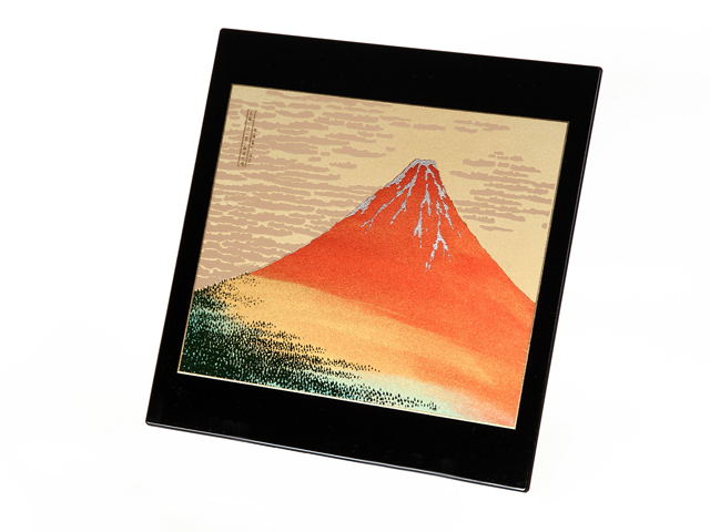 高級蒔絵ステーショナリー 赤富士Aセット