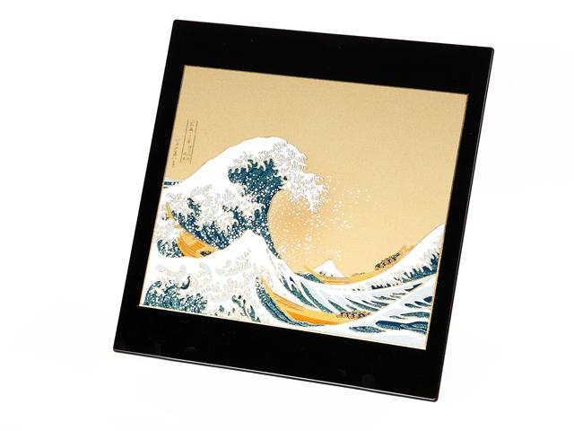 高級蒔絵ステーショナリー 神奈川沖の浪裏Bセット