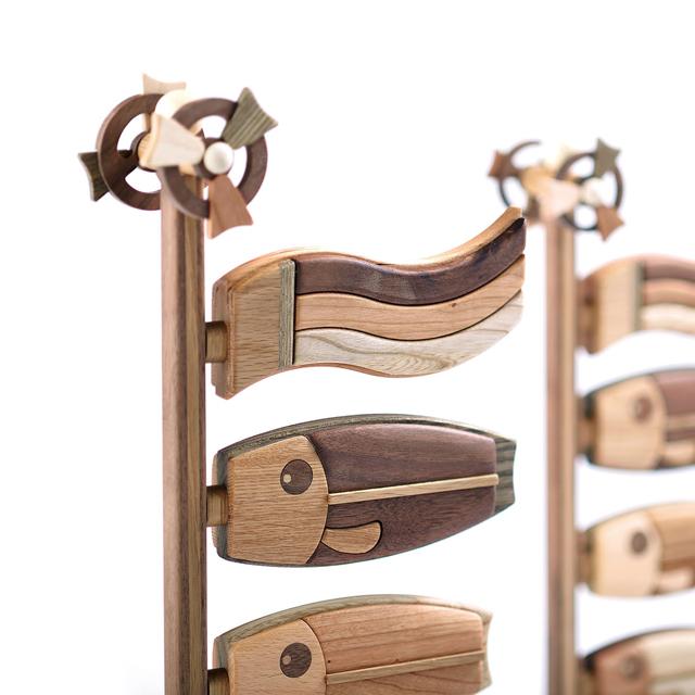 木製鯉のぼりLの拡大