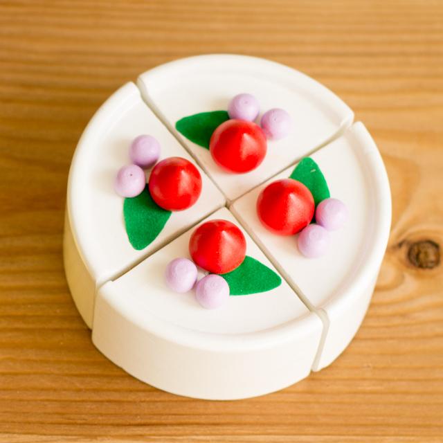 ケーキ真上画像