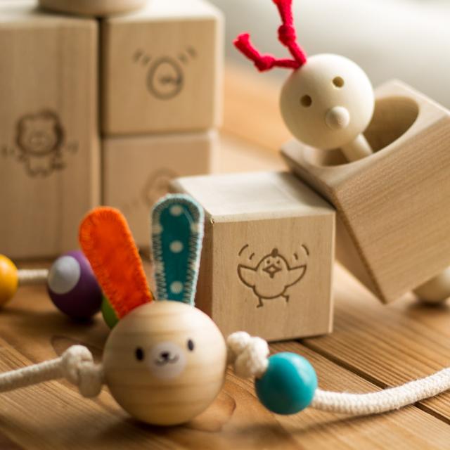 小さなつみきセット|出産祝い