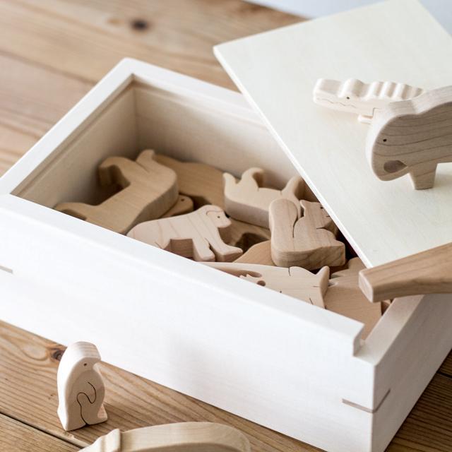 木のZOO木箱の蓋