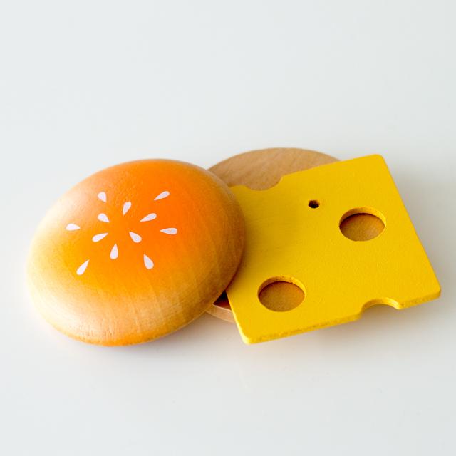 パン&チーズままごと食材