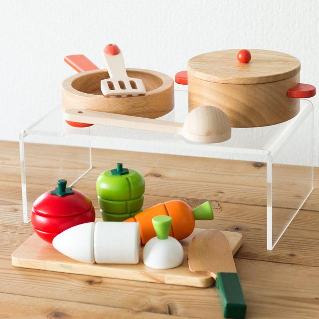 木製調理用具野菜セット