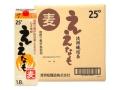 清洲城信長焼酎 麦焼酎 ええなもパック 1.8L(ケース)