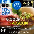 最高級ブランド和牛仙台牛ローストビーフ+すき焼き煮