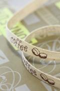 ドイツ・コットンリボン・Coffee 10ミリ幅