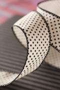 ドイツリボン・Love Dots  新色モードカラー 40ミリ幅