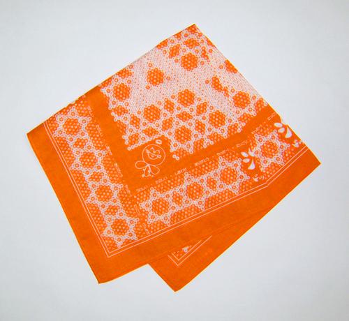 魔法の布(オレンジ)