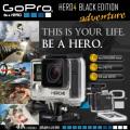 ウェアラブル ドライブレコーダー 世界で最も多目的なカメラ CHDHX-401 『GoPRO HERO4 BLACK EDITION』(FE-059)