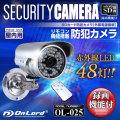 SDカード防犯カメラ 外付SDカードスロット リモコン付 外部電源 屋内 赤外線暗視カメラ (OL-025)