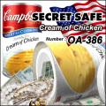 隠し金庫 食品缶型 フード缶詰デザイン 収納 セーフティボックス『SECRET SAFE シークレットセーフ』 (OA-386)