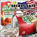 隠し金庫 食品缶型 フード缶詰デザイン 収納 セーフティボックス『SECRET SAFE シークレットセーフ』 (OA-387)
