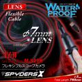フレキシブルスコープカメラ ファイバースコープ 小型カメラ スパイダーズX (M-929H) スパイカメラ 防水仕様 直径7mmレンズ