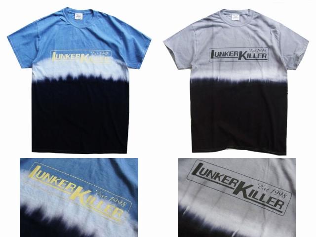 LunkerKiller ランカーキラー 「メインロゴ タイダイTee」