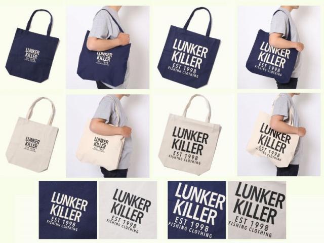 LunkerKiller ランカーキラー 「FC LOGO TOTE BAG トートバッグ」