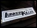 LunkerKiller ランカーキラー 「メインロゴ カーペットデカール」