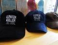 LunkerKiller ランカーキラー 「FC LOGO 6-PANEL CORD CAP FCロゴ6パネルベースボールキャップ」