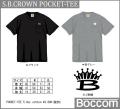 BOCCOM ボッコム 「S.B.CROWN POCKET-TEE SBクラウンポケットTシャツ」