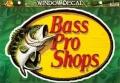 BassProShops バスプロショップス 「ダイカットビニールウィンドウデカール Lサイズ」
